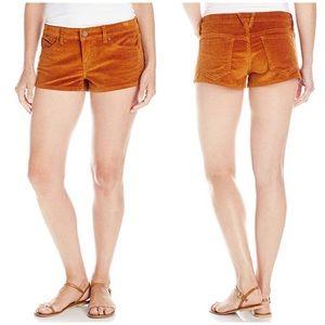 Volcom Jeans Yae Corduroy Brown Shorts Size 3